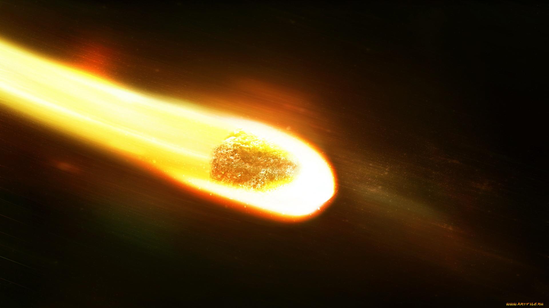 След кометы картинка